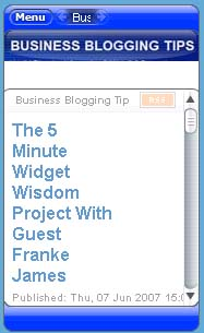 Business Blogging Tips: Sorles and Snell